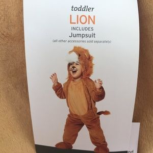 Other - Lion Baby Costume 18-24 Months NEW